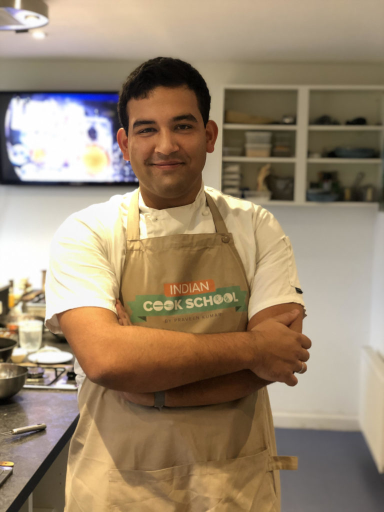 Chef Sanjay of Indian Cook School